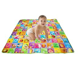 Wholesale New StyleDoulble Site Baby Play Mat Ocean And Zoo Child Beach Mat Picnic Carpet Baby Crawling Mat MC