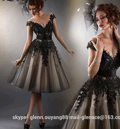 Wholesale S Sexy Long Lace Cocktail Formal Party Prom Gown dress high quality