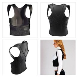Wholesale Hot Straightener Unisex D Body Support Corrector breathable polyester Therapy Posture Corrector Back Shoulder Support Brace