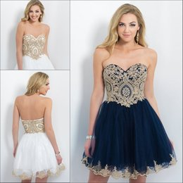 Wholesale 2016 Blush Knee Length Homecoming Party Dresses Princess New Tulle with Applique Sweetheart Neckline Beaded Short A line Cocktail Dress Hot