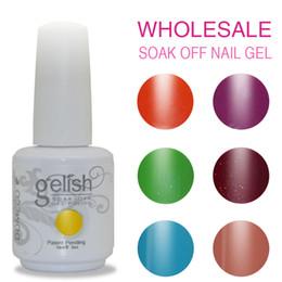Wholesale 60PCS DHL TNT long lasting high quality healthy no odour DOMCCO Gelish soak off led nail gel polish uv gel varnish lacquer