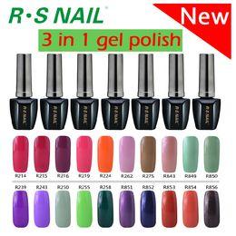 Wholesale Christmas party nail uv lacquer gel R S NAIL soak off colorful UV gel Environment Gel Nail Polish1 Step uv Gel Polish