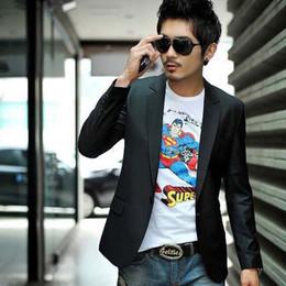 Wholesale Promotion Mens casual Suits Blazers Coat fashion Business Blazer slim fit Jacket Button suit men Formal suit jacket b9