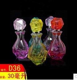 Wholesale Diamond perfume bottle empty bottle glass bottles into small bottle bottling spray bottle empty bottles of ml