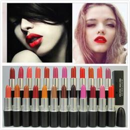 New Arrival Rubywoo Maquiagem Lustre Lipstick Frost Batom Batom Matte 3g 24 cores batom com nome Inglês Atacado