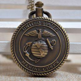 marine corps watch online marine corps watch for bronze us marine corps retro white round arabic numbers dial quartz pocket watch men women pendant regarder p064