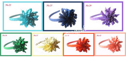 2017 headband plastic accessories 60pcs Children's Curlers corker hair band Bows Flowers Hair Barrettes Korker curly Ribbon Hair Clip accessory hard plastic headband PD009 cheap headband plastic accessories