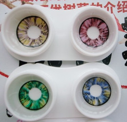 Wholesale New contact lens colorsblend40pcs pairs star colors Contact lenses lens Color Contact crazy lens tones colors EYE