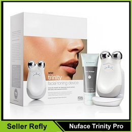 Wholesale Nuface Trinity Pro Facial Toning Device Kit Face Massager N2000 Refly