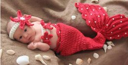 Wholesale Newborn Baby Photography Props Infant Crochet Knitting Costume Soft Adorable Clothes Photo Hats Caps
