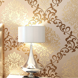 house ornamentation wallpapers europe damask classical designs glitter wallpaper for wall in bedroom papel de parede 3d moderno