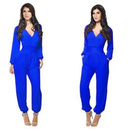 Wholesale 2015 Newest Women Clubbing Rompers Dress Dresses Deep V Stretch Bodycon Bandage Jumpsuit Romper Pants Lady Jumpsuits Clothing Colors