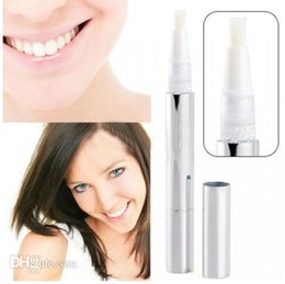 Wholesale White Teeth Whitening Pen Tooth Gel Whitener Bleach Remove Stains ml Oral Dental Care Carbamide Peroxide White Teeth Smile Pen