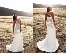 Wholesale 2016 Luxury Designer China Long Prom Dresses Mermaid Style Spaghetti Sparkly Crystal Beaded Backless Prom Dress Aqua Evening Gown Formal