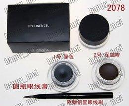 Wholesale Factory Direct Pieces New Makeup Eyes Eyeliner g Fluidline Eye Liner Gel Will Brush Black Brown