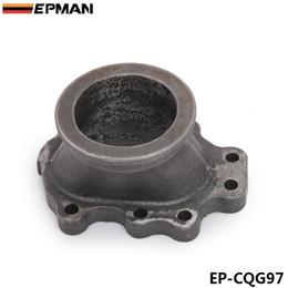 EPMAN Чугун GT25 GT28 T25 T28 Турбонагнетатель Выход Downpipe Свалка фланца до 2,5