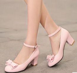 Pink Ribbon Heels Online | Pink High Heels Ribbon for Sale