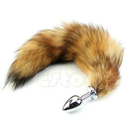 Wholesale M65 Pc Love Fox Tail Butt Anal Plug Sexy Romance Sex Funny Adult
