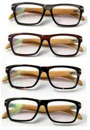 Wholesale 2014 Pure wood glasses handmade bamboo glasses optical frames