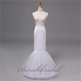Wholesale Cheap In stock Hoop Layer Underskirt Wedding Mermaid Trumpet Petticoats Bridal Gowns Accessories Crinoline Skirt Slip