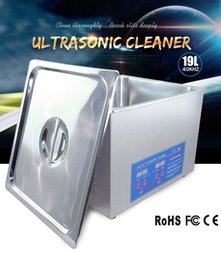 jakan 19l ultrasonic cleaning equipment industrial washing machines for automobilechassiswheelschassisoil tank with timer oil tank cleaning equipment