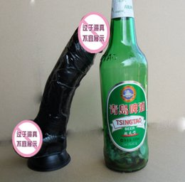 Wholesale 9 inch black flesh Realistic Big Dildo Silicone Flexible penis big Dick with suction cup huge dildo cock consoladores sex toys for women
