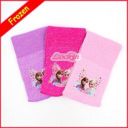 Wholesale 2015 New Winter baby frozen Warm scarf Elsa and Anna fashion cartoon scarf