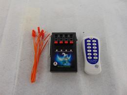 4 sistema di canale freddo sparando fuochi d'artificio + 400 m ricevitore trasmettitore sicurezza produzione di accenditore personalizzato Liuyang fabbrica Switch Wireless