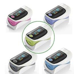 Wholesale Health Care CE FDA OLED Finger Pulse Oximeter Blood Oxygen SpO2 Saturation Oximetro Monitor
