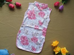 Wholesale Good quality baby girl s cheongsam classic style dress Traditional Chinese garments clothing Flower