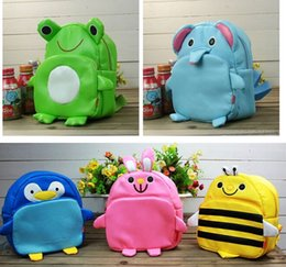 Wholesale 8pcs low price Baby Schoolbag Children very Cute Animal Style Soft PU backpack Cartoon Schoolbag