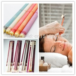 Wholesale 50pieces pairs cheap indian magical Ear care detox wax candle beeswax remove press cleaner therapy massage