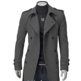 Dark Men Dress Long Coat Online | Dark Men Dress Long Coat for Sale