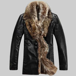 Discount Mens Real Leather Fur Coats | 2017 Mens Real Leather Fur