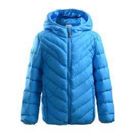 Wholesale Kid Winter Down Jacket Winter Child Coat Warm Unisex Baby Jacket White Duck Down Coat Child Winter Jacket Color
