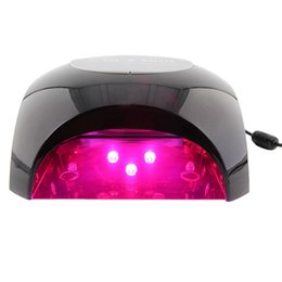 Wholesale 54 W Professional in Powerful LED Skin Anti aging and Curing Nail Gel Lamp Red Purple Light Nail Art Skin Care Tools Machine