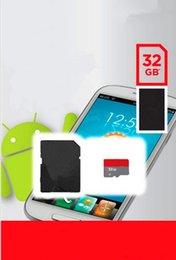 Venta caliente de 32 GB 64 GB 128 GB Clase 10 tarjeta Micro SD TF tarjeta de C10 TF tarjeta de memoria MicroSD con adaptador SD Dropship libre para dropshipping libre