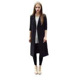 wholesale 2015 wholesale autumn winter style hollow out manteau femme women lace x long - Manteau Femme Color