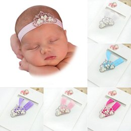 Wholesale New Pearl crown Hair Accessories baby girl headband girl s hair band head band kids hair accessories