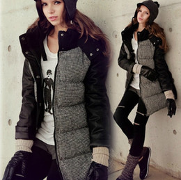 Womens Parka Coat Leather Sleeves Suppliers | Best Womens Parka