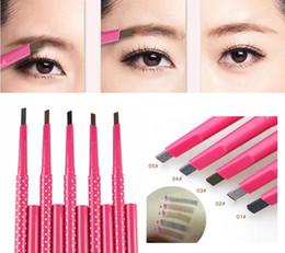 Wholesale 1 Waterproof Longlasting Eyebrow Pencil Eye Brow Liner Powder Shapper Makeup Tool