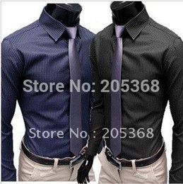 Discount Mens Navy Blue Dress Shirt  2017 Navy Blue Mens Dress ...