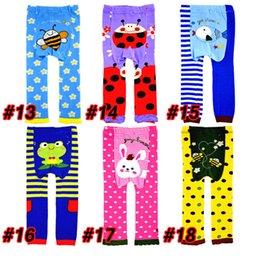 Wholesale 18 kinds of cartoon Baby PP Pants PP Warmer Toddler Leggings Toddler Pants Cartoon Trousers Tights Pant