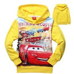 Wholesale cars cartoon baby boys clothing spring boys clothes kids hooded jumper boy sweatshirt children hoodies kids clothing child jumpers