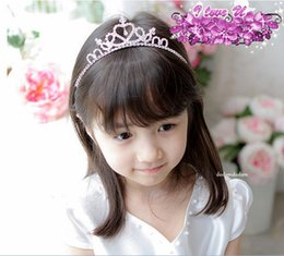 Wholesale Fashion Girl Crown Children Accessories Baby Hair Bows Girls Tiaras Kids Hair Bows Children Hair Accessories Kids Hair Bows Hair Accessories