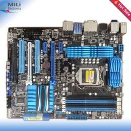 Оптовая Для Asus P8Z68-V PRO Оригинал Б Desktop Материнские платы для процессоров Intel Z68 Разъем LGA 1155 DDR3 ATX USB3.0