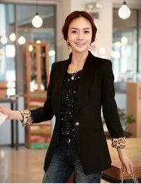 Wholesale 2014 Spring Hotsale New Arrival Brand Korean Women Ms Boutique Suits Lady Office Business Suits Cheap Price Online