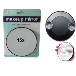 Wholesale Magnifying Mirror X Suction Cup Makeup Compact Cosmetic Face Care Shave Travel
