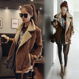 Camel Shearling Coat - Coat Nj
