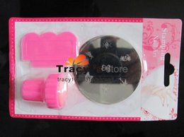 Wholesale stamping nail art kit Sets Assorted Plates Nail Art Stamp Stamping nail art kit